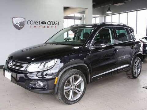 2017 Volkswagen Tiguan for sale at Coast to Coast Imports in Fishers IN