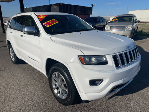 2014 Jeep Grand Cherokee for sale at Top Line Auto Sales in Idaho Falls ID