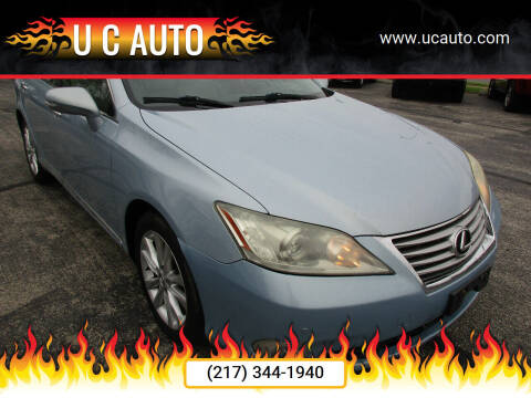 2010 Lexus ES 350 for sale at U C AUTO in Urbana IL
