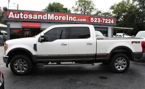 2017 Ford F-250 Super Duty for sale at Autos and More Inc in Knoxville TN