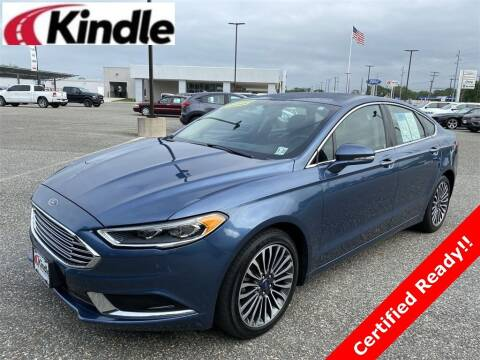 2018 Ford Fusion for sale at Kindle Auto Plaza in Cape May Court House NJ