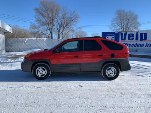 2001 Pontiac Aztek for sale at Velp Avenue Motors LLC in Green Bay WI