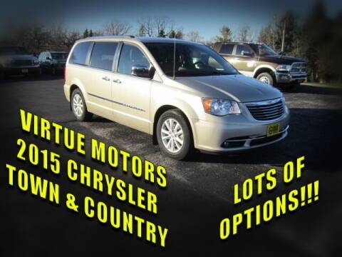 2015 Chrysler Town and Country for sale at Virtue Motors in Darlington WI