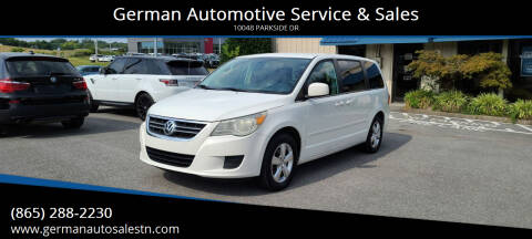 2010 Volkswagen Routan for sale at German Automotive Service & Sales in Knoxville TN