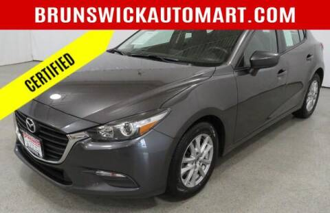2017 Mazda MAZDA3 for sale at Brunswick Auto Mart in Brunswick OH