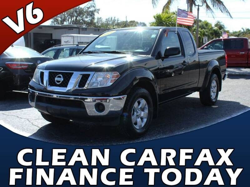 2011 Nissan Frontier for sale at Palm Beach Auto Wholesale in Lake Park FL