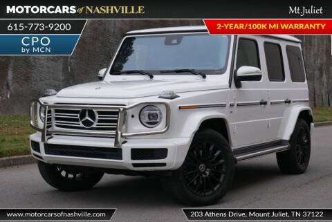 2019 Mercedes-Benz G-Class for sale at MotorCars of Nashville in Mount Juliet TN