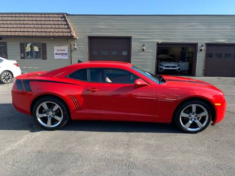 2011 Chevrolet Camaro for sale at MAGNUM MOTORS in Reedsville PA