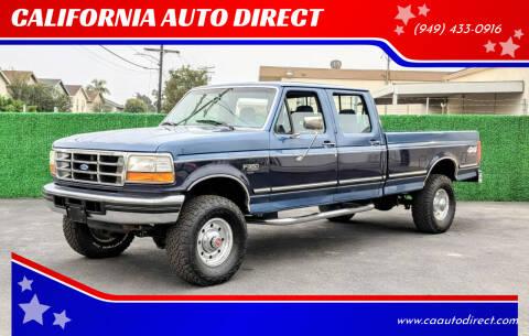 1994 Ford F-350 for sale at CALIFORNIA AUTO DIRECT in Costa Mesa CA