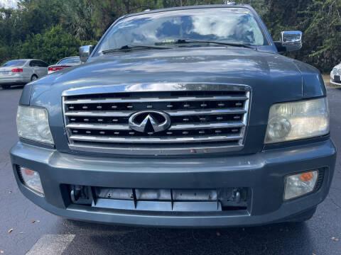 2008 Infiniti QX56 for sale at Elite Florida Cars in Tavares FL