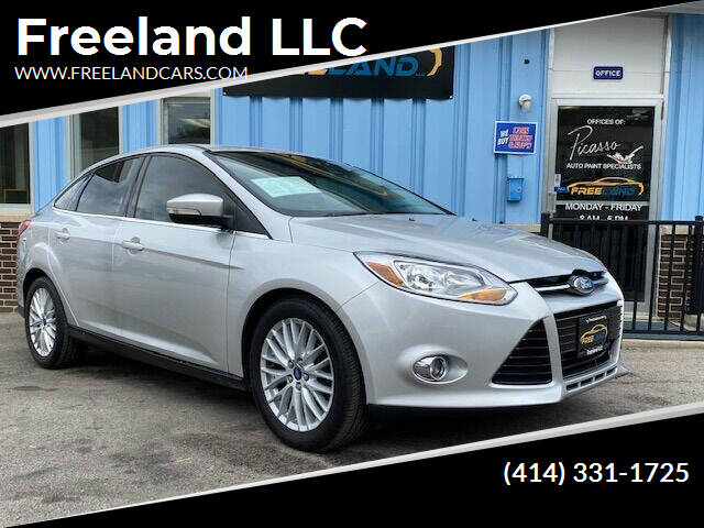2012 Ford Focus for sale at Freeland LLC in Waukesha WI