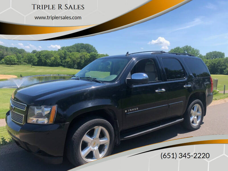 2007 Chevrolet Tahoe for sale at Triple R Sales in Lake City MN