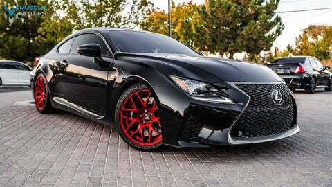 2015 Lexus RC F for sale at MUSCLE MOTORS AUTO SALES INC in Reno NV