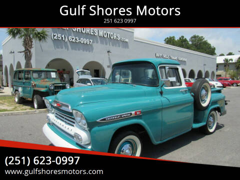 1959 Chevrolet Apache for sale at Gulf Shores Motors in Gulf Shores AL