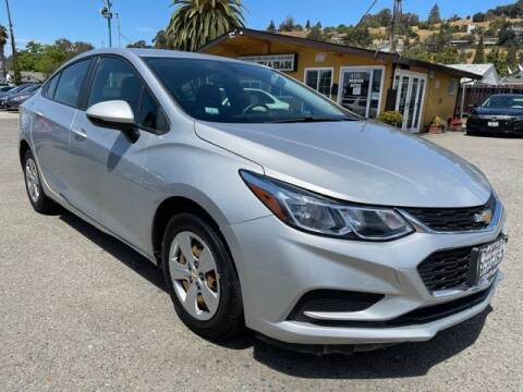2018 Chevrolet Cruze for sale at MISSION AUTOS in Hayward CA