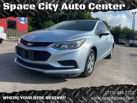 2018 Chevrolet Cruze for sale at Space City Auto Center in Houston TX
