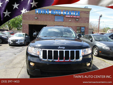2013 Jeep Grand Cherokee for sale at Twin's Auto Center Inc. in Detroit MI