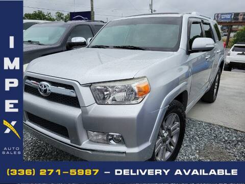 2011 Toyota 4Runner for sale at Impex Auto Sales in Greensboro NC