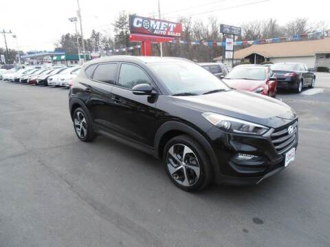 2016 Hyundai Tucson for sale at Comet Auto Sales in Manchester NH