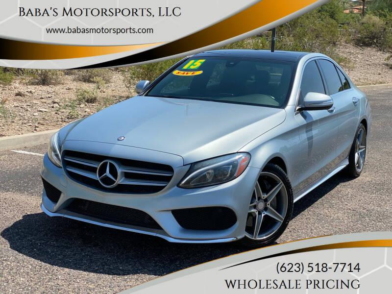 2015 Mercedes-Benz C-Class for sale at Baba's Motorsports, LLC in Phoenix AZ