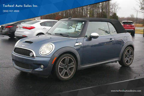 2010 MINI Cooper for sale at Tarheel Auto Sales Inc. in Rocky Mount NC