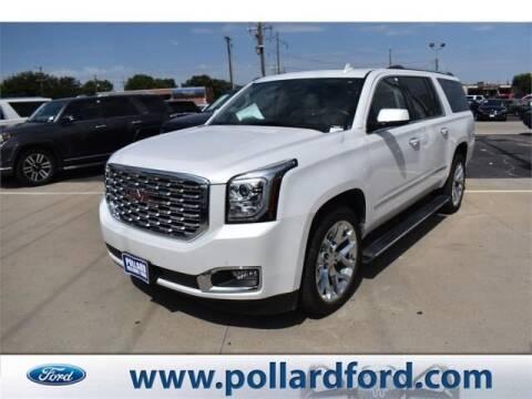 2020 GMC Yukon XL for sale at South Plains Autoplex by RANDY BUCHANAN in Lubbock TX