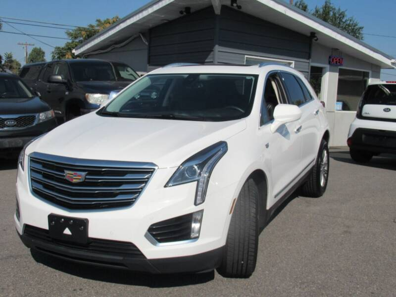 2017 Cadillac XT5 for sale at Crown Auto in South Salt Lake UT