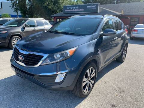 2011 Kia Sportage for sale at Prime Auto Solutions in Orlando FL