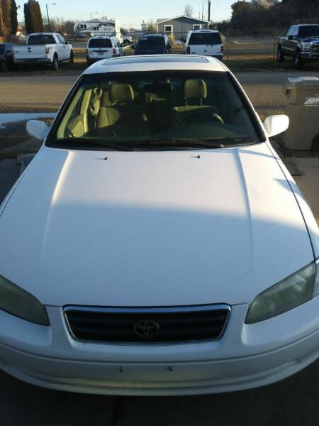 2001 Toyota Camry for sale at Marvelous Motors in Garden City ID