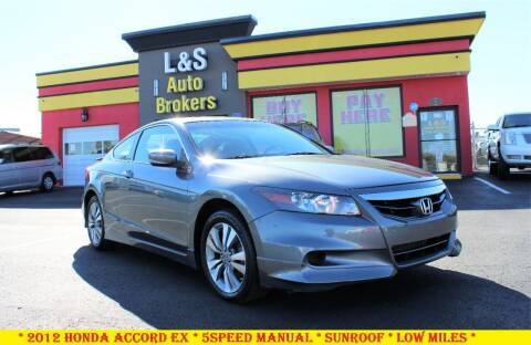 2012 Honda Accord for sale at L & S AUTO BROKERS in Fredericksburg VA