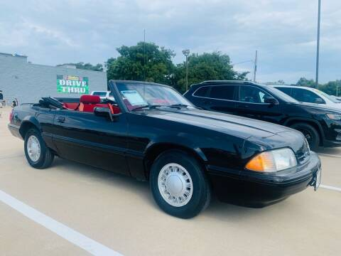 1992 Ford Mustang for sale at VanHoozer Auto Sales in Lawton OK