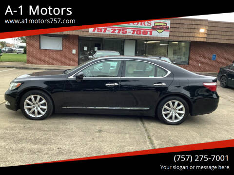 2009 Lexus LS 460 for sale at A-1 Motors in Virginia Beach VA