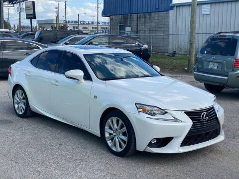 2016 Lexus IS 200t for sale at Marvin Motors in Kissimmee FL