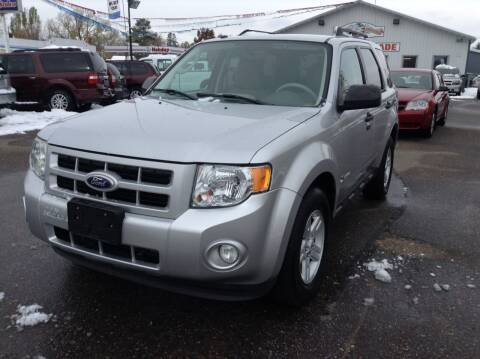 2010 Ford Escape Hybrid for sale at Steves Auto Sales in Cambridge MN