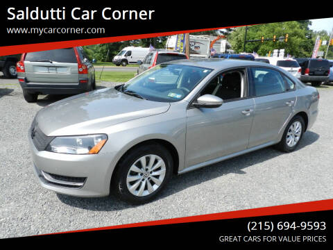2012 Volkswagen Passat for sale at Saldutti Car Corner in Gilbertsville PA