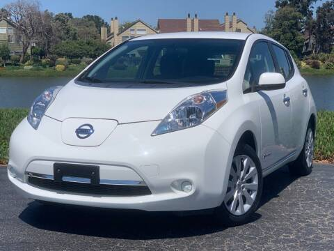 2016 Nissan LEAF for sale at Continental Car Sales in San Mateo CA