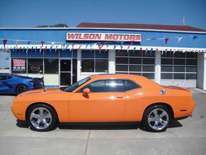 2012 Dodge Challenger for sale at Wilson Motors in Junction City KS
