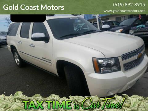 2012 Chevrolet Suburban for sale at Gold Coast Motors in Lemon Grove CA