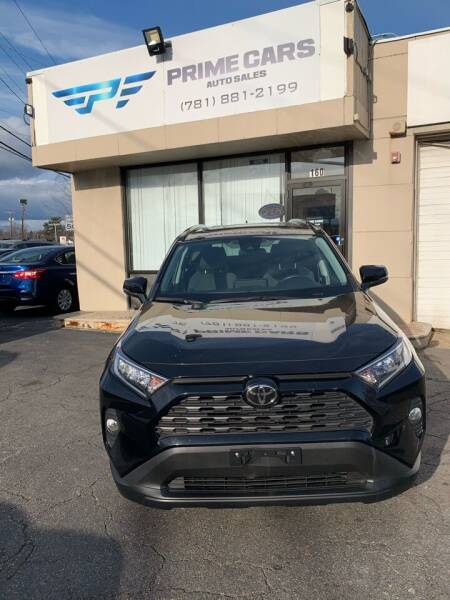 2019 Toyota RAV4 for sale at Prime Cars Auto Sales in Saugus MA