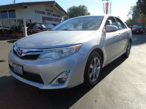 2012 Toyota Camry for sale at Centre City Motors in Escondido CA