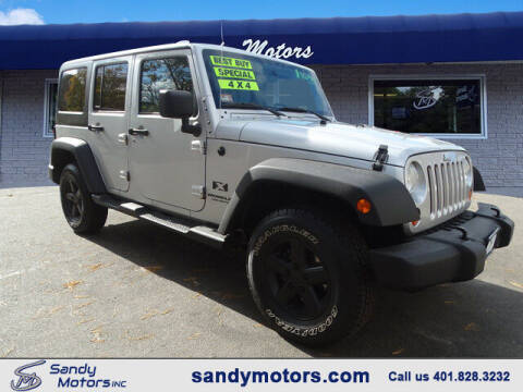 2007 Jeep Wrangler Unlimited for sale at Sandy Motors Inc in Coventry RI