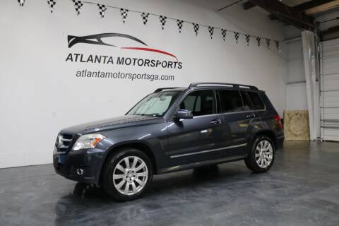 2011 Mercedes-Benz GLK for sale at Atlanta Motorsports in Roswell GA