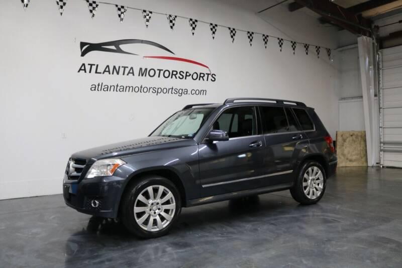 2011 Mercedes-Benz GLK for sale at Atlanta Motorsports in Roswell GA