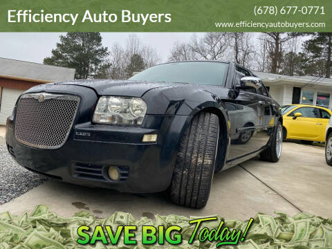 2006 Chrysler 300 for sale at Efficiency Auto Buyers in Milton GA