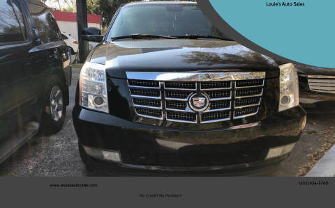 2007 Cadillac Escalade for sale at Louie's Auto Sales in Leesburg FL