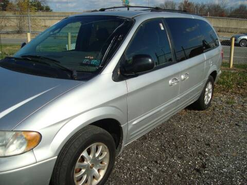 2002 Chrysler Town and Country for sale at Branch Avenue Auto Auction in Clinton MD