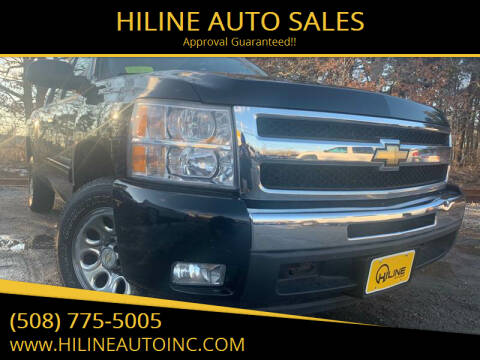 2011 Chevrolet Silverado 1500 for sale at HILINE AUTO SALES in Hyannis MA