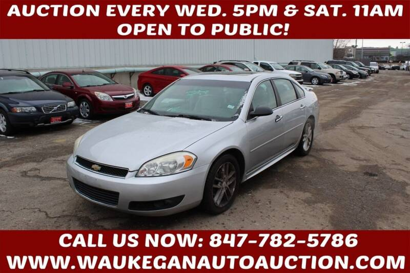 2012 Chevrolet Impala for sale at Waukegan Auto Auction in Waukegan IL