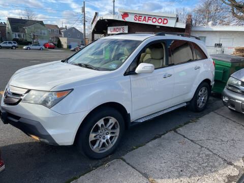 2007 Acura MDX for sale at Frank's Garage in Linden NJ