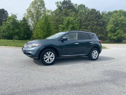 2012 Nissan Murano for sale at GTO United Auto Sales LLC in Lawrenceville GA